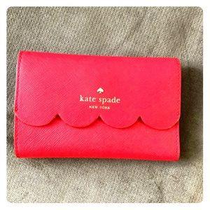 Kate Spade Scalloped Wallet